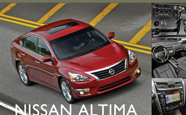 The 2013-MY Nissan Altima