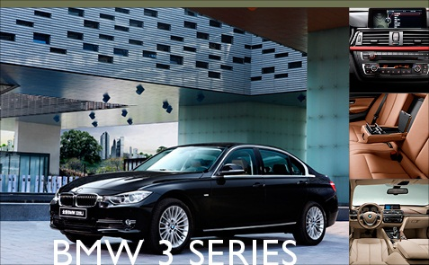 The all-new sixth generation BMW 3 series. (Corrected: Earlier versions of this article incorrectly displayed fifth generation 3 Series photos.)