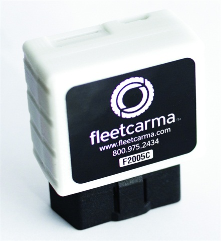 FleetCarma's data logger.
