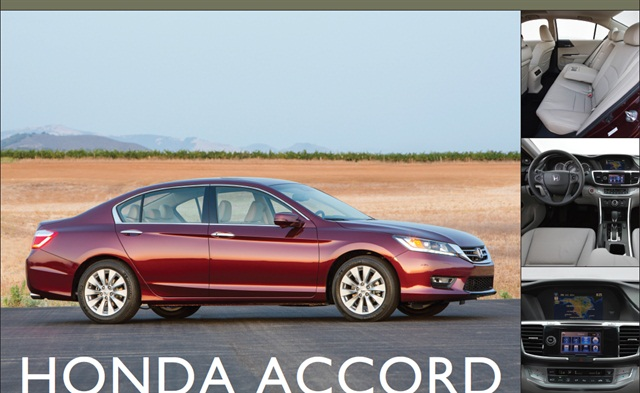 The 2013-MY Honda Accord.