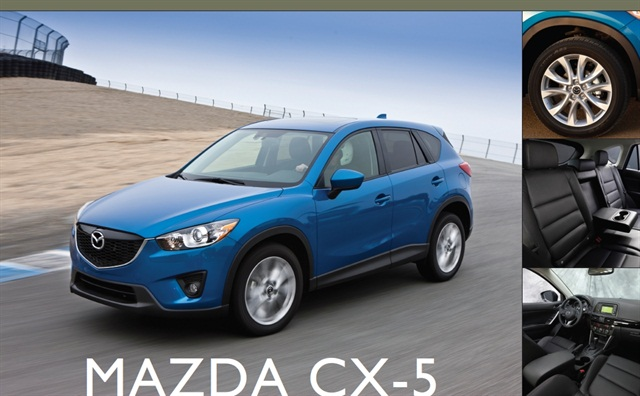 showroom mazda cx 5 new crossover stands out in a crowd articles vehicle research. Black Bedroom Furniture Sets. Home Design Ideas