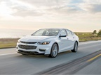 Chevrolet Malibu Wins 2016 Fleet Car of the Year