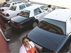 Cleaning Company Stocks Fleet with Police Cruisers