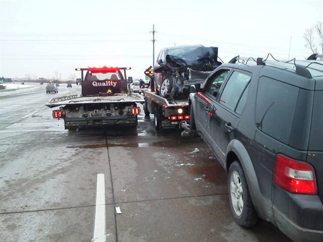 Gallery Another Example Of A Motor Accident Needing Tow