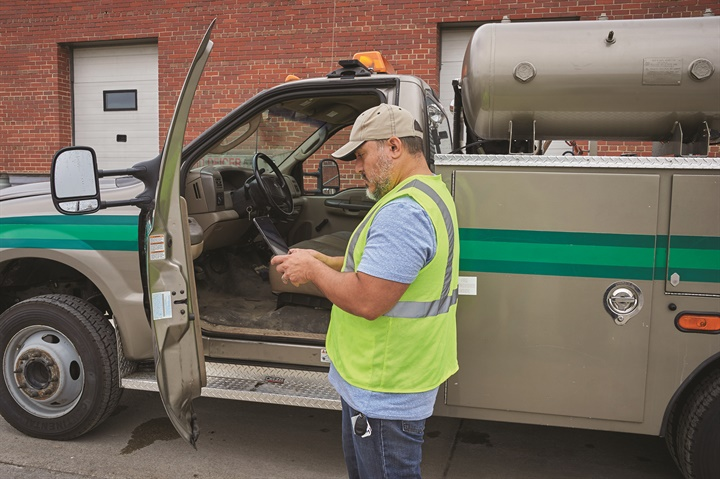 Under the new ELD rules, inspection officers will ask to see the ELD