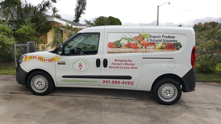 White Picket Produce uses Ram ProMaster City vans to delivery its