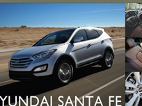 Showroom - 2013 Hyundai Santa Fe: Room for 5, 6 or 7