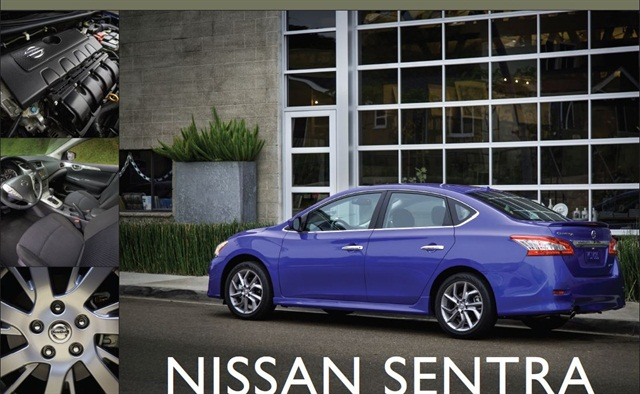 The 2013-MY Nissan Sentra.