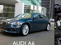 Showroom - Audi A6: New Four-Cyclinder Offers 28 MPG