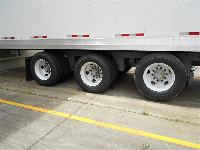 A central tire inflation system can be useful for units with air brakes. Photo by Les Smart.