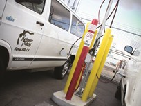 Bakery Fleet Runs Only Used CNG Vans