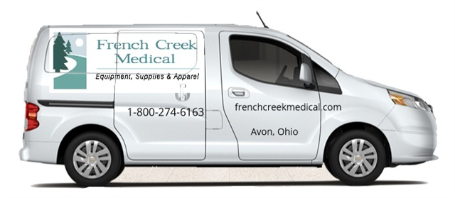 A sketch of French Creek Medical's new Chevrolet City Express van with its decal wrap. The business plans to receive the van by second quarter 2015. Photo courtesy of French Creek Medical.