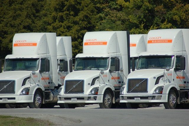 Goggin Warehousing uses in-vehicle video-based safety systems in each of its 80 fleet trucks.