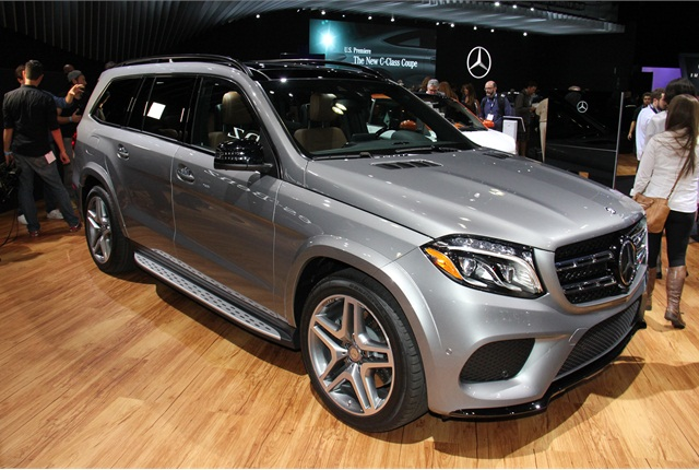 Photo of 2017 Mercedes-Benz GLS by Paul Clinton.