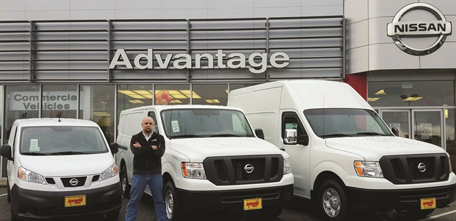 Luke Moore, the commercial account manager for Advantage Nissan in Bremerton, Wash., starts a client relationship by asking a lot of questions. Ultimately, being able to answer a client's questions with the right product knowledge matters more than price, he says.