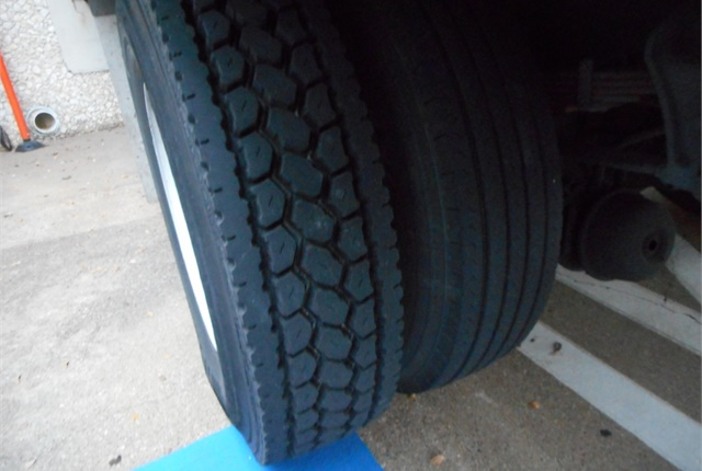 Make sure that your tire provider corrects a mismatch in tread designs. Photo by Les Smart.