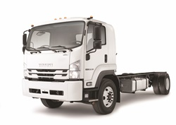 The F-Series truck is slated to go into production in the United States in mid-2017. Photo courtesy of Isuzu.
