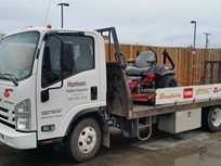 Delivery Fleet Customizes Low Cab Forward Truck