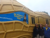 Driving Mr. Peanut's Nutmobile