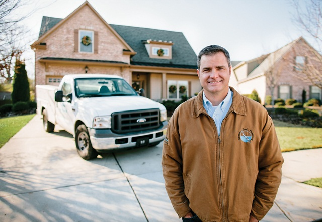 Shawn Still, CEO and president of Olympic Pool Plastering.