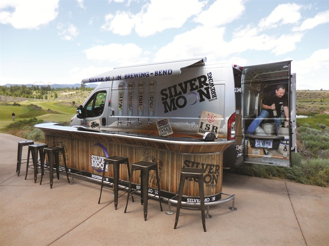 Silver Moon Brewing Created This Pop Up Pub To Expand Its Marketing Outside