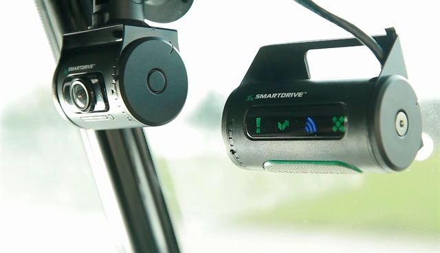 Through vehicle data and video event recording technology, SmartDrive uses video to help managers coach drivers on their driving performance.