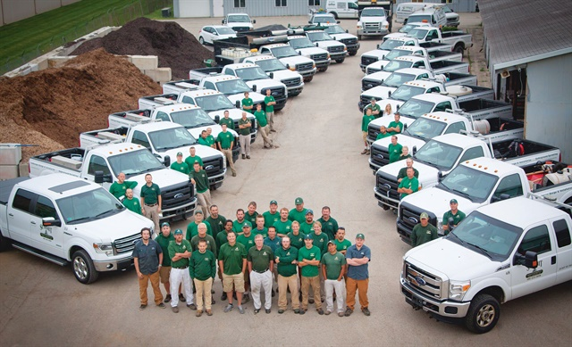 Landscape fleet shortens truck lives from 15 to five years for Landscaping companies
