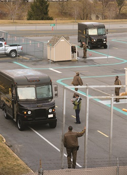 "Each UPS Integrad center features ""Tiny Town,"" a course designed to simulate delivery and pickup situations. Photo courtesy of UPS."