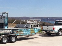 Bowfishing Company's Diesel F-250s Go Cross-Country