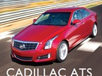 <p>The 2013-MY Cadillac ATS</p>