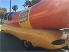 Each Wienermobile features a 27-foot-long fiberglass hot dog. Photo by