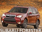 <p>The 2014-MY Subaru Forester.</p>