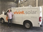 Jim Aleson of Vivint Solar uses his Telogis telematics system to