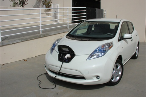 The Leaf charges at our company's loading dock. A full charge costs about $2.75 using an average national electricity cost of $.11/kWh. However, most Leaf drivers program the car with a cell-phone app to charge at night and pay off-peak electricity rates.