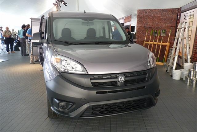 The 2015 ProMaster City compact van.