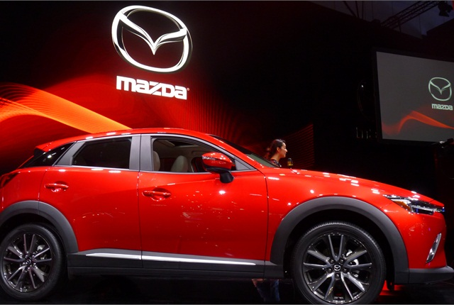 """The new Mazda CX-3 compact crossover continues automaker's chase of """"young, active buyers."""""""