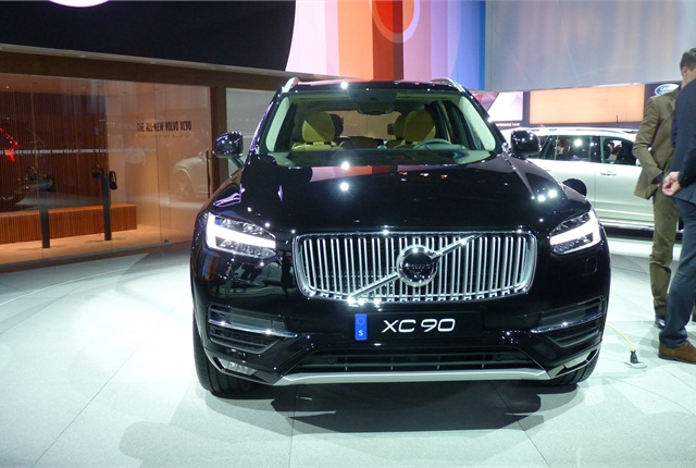 The 2016 Volvo XC90 is Volvo's most important launch in years. Its front fascia design will carry over to other models, Volvo says