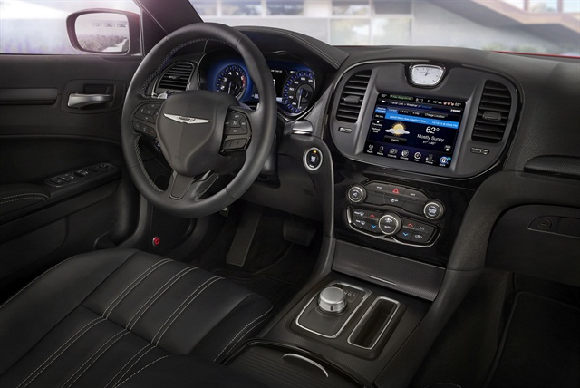 Photo of 300S interior courtesy of Fiat Chrysler Automobiles.
