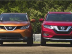 Photo of the Rogue Sport (left) and Rogue courtesy of Nissan.