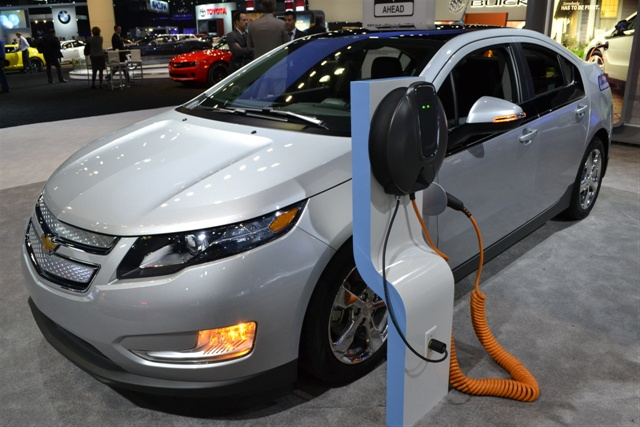 Photos by Joanne M. Tucker The Chevrolet Volt at the L.A. Auto Show - 2011. Click here for a full gallery of the event.