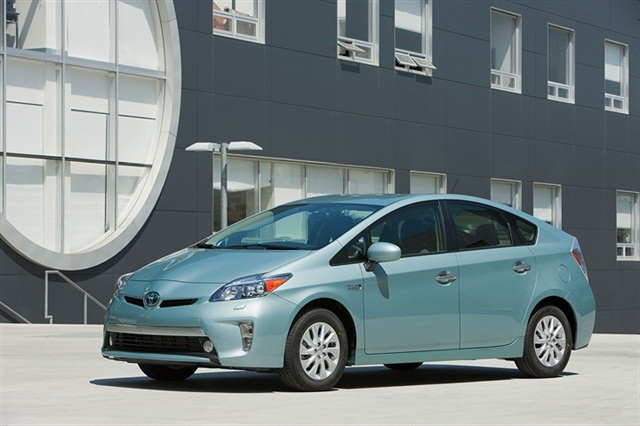 The 2012-MY Toyota Prius Plug-in.
