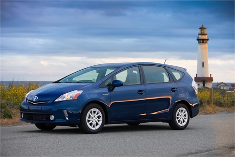 The 2012-MY Prius v.