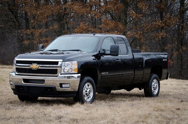 The bi-fuel 2013-MY Chevrolet Silverado HD.