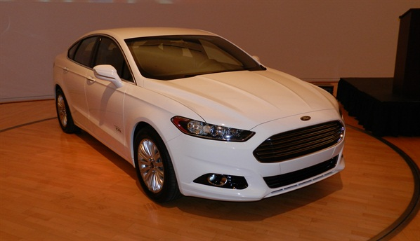 The 2013-MY Ford Fusion at the Ford fleet preview. You can read a blog about the event here.