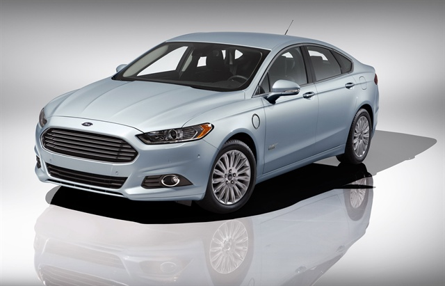 The 2013 Ford Fusion Energi.