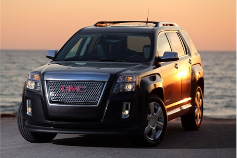 The 2013 model year GMC Terrain Denali.