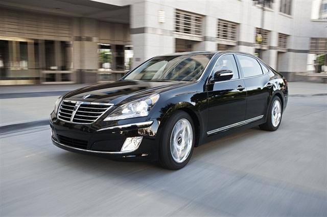 2013-MY Hyundai Equus