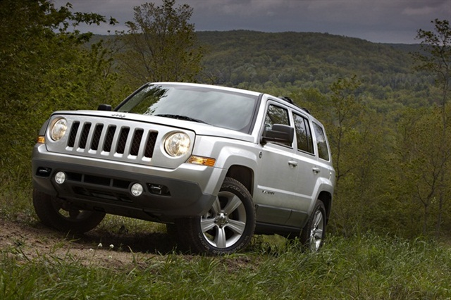 The 2013-MY Jeep Patriot.