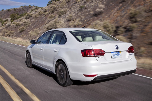 Powered by an all-new 1.4-liter turbocharged and direct-injected TSI engine mated to a zero-emissions electric motor, the Jetta Hybrid has a combined output of 170 horsepower and 184 lb-ft. of torque, according to the automaker.