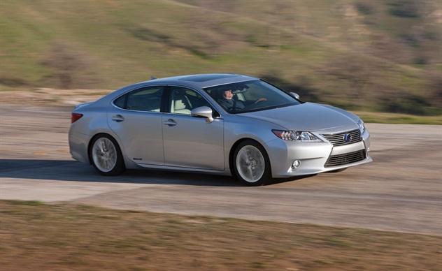 The 2013-MY Lexus ES 300h